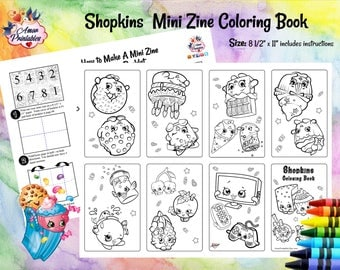Shopkins activity Etsy