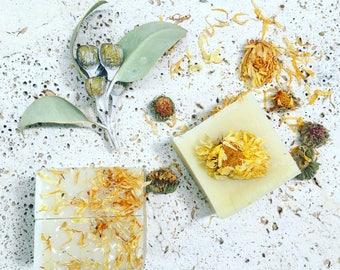 Calendula Orange Soap Handmade Natural