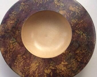 Hand Turned Decorative Bowl