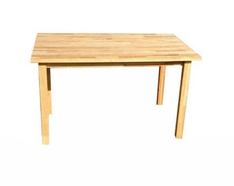 Table dining Birch solid wood