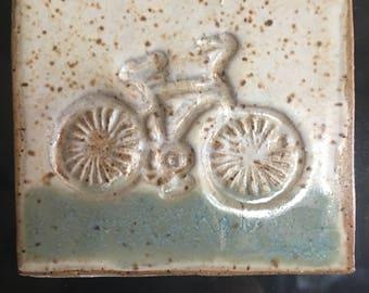 Ready to ship refridgerator magnet for bike lovers