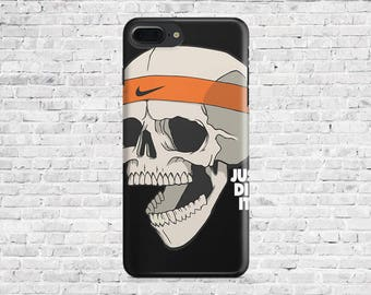 10% Off Case.Printed Nike Skull Covers - iPhone Cases: iPhone 7 Plus/ iphone 7, iPhone 6/6s/6+, 6+s, 5/5S. Printed IPhonecase.ElectronicCase