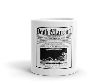 Death Warrant Mug