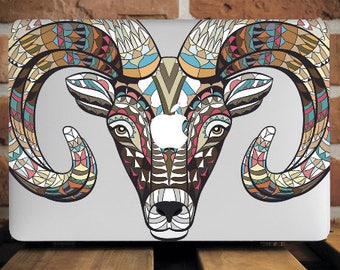 Goat MacBook Hard Case MacBook Pro 15 Case MacBook Pro Retina 13 Case MacBook Air 11 Inch Case Mac Pro Cover Mac Air 13 Case Laptop WCm108