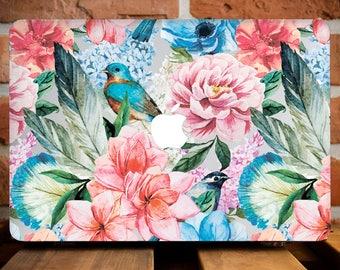 Peonies Flowers MacBook Case MacBook Air 13 Case Floral Macbook Case MacBook 12 Case MacBook Air 11 Case MacBook Pro Retina 13 Case WCm157