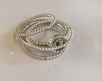 Stack rings (5 pieces)
