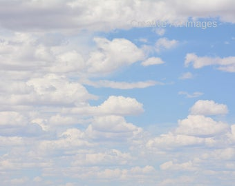 Beautiful New Mexico, Canvas Print, Cloud Print, Photograph #405
