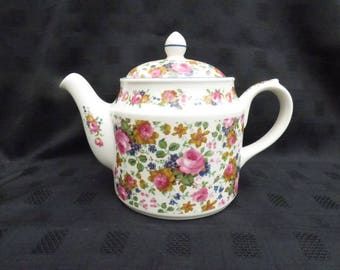 Vintage Sadler, Olde Chintz, Traditional Oval Design