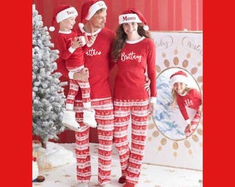 20% OFF PRE-ORDER, Personalized Christmas Pajamas, Family Christmas Pajamas, Christmas Sale, Holiday Pajamas
