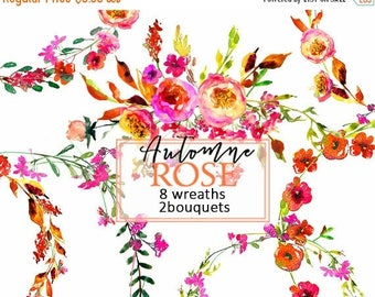Autumn bouquets png etsy for Fall wedding bouquets for sale