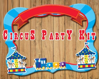 Circus party decoration party kit