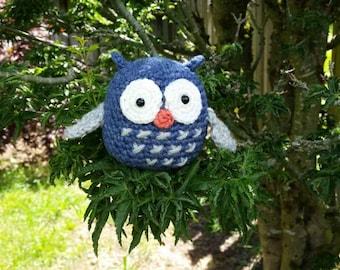 Owl Handmade Amigurumi toy