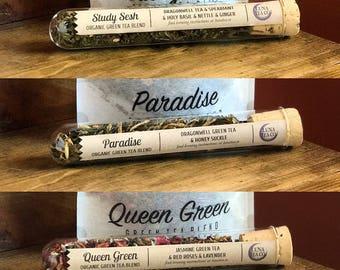 Mega Zen Green Tea Sample Pack (3 test tube teas)