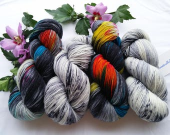 Wool box: A mix of colours and quality, 400 g