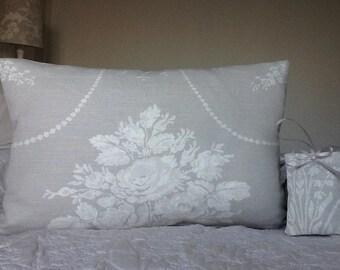 Laura Ashley Josette fabric hanging heart cushion cover bundle
