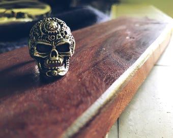 Silver Men's Skull Ring Men jewelry skulls