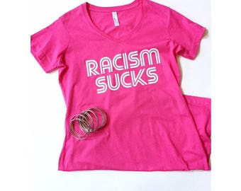 V-neck Crossover Dress - Pink
