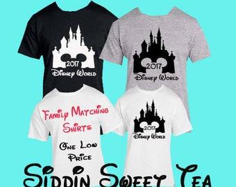 Family Disney World Shirts, Family shirts for disneyland, Family Shirts for kids,Family tshirts for disneyland,Matching Family disney shirts