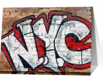 Andre Charles NYC Graffiti Greeting Card