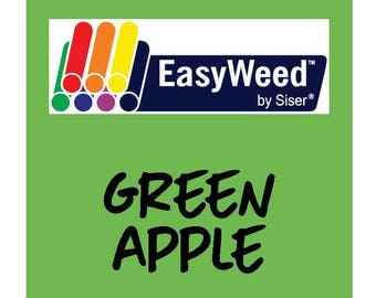Siser EasyWeed Heat Transfer Vinyl - HTV - Green Apple