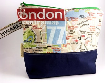 London Map Project Bag
