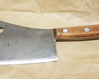 Rare Vintage Dasco 114-6 Meat Cleaver