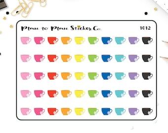 C1012~~Tea Cups Planner Stickers.
