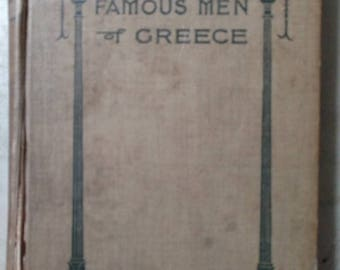 """First edition of """"Famous Men of Greece"""""""