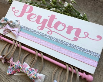 Newborn Girl, Baby Headband, Hair Bow Holder, Baby Girl, Baby Shower Gift, Nursery Decor, Headband Holder, HairClip Holder, Bow Organizer