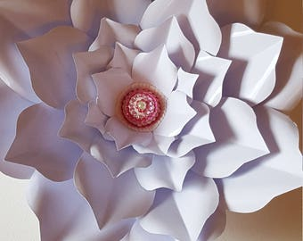 PDF Paper Flower Template and Base PDF #75