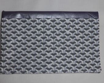 Cover graphic fabric and leather, to order card boxes of RV, pharmacy case