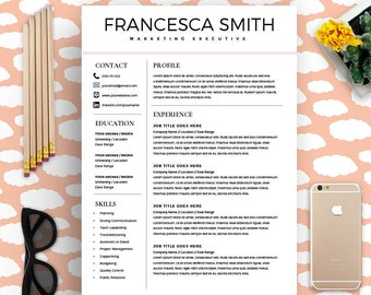 feminine resume cv design resume download ms word resume for word professional