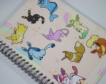 A5 Eevee Notebook