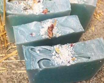 Lemon Eucalyptus soap .