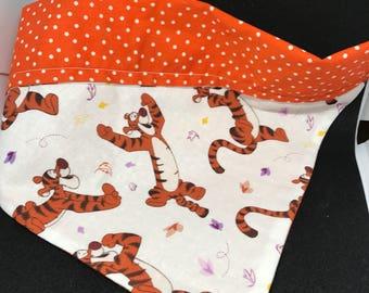 Winnie the pooh orange Tigger dog bandana