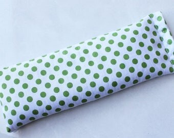 Therapeutic, Relaxing Cotton Yoga/Meditation Eye Pillow Polka dots