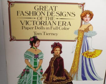 Great Fashion Designs of the Victorian Age