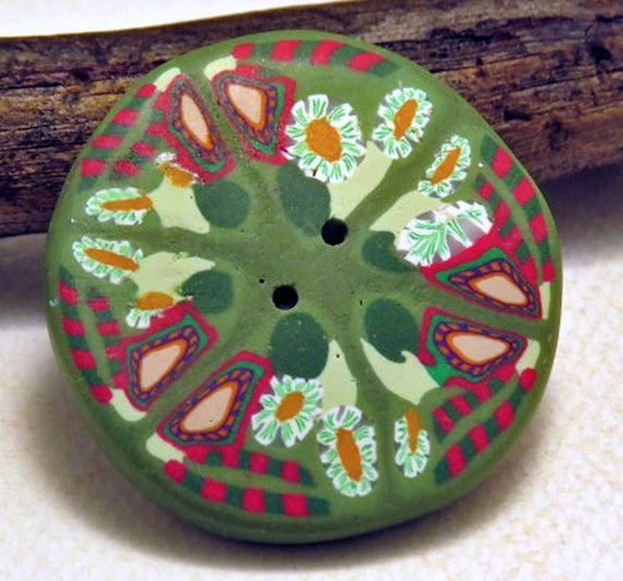 Button large fantasy button large rounded decorative for Decorative buttons for crafts