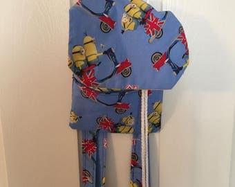 British Minion Mania Drawstring Backpack