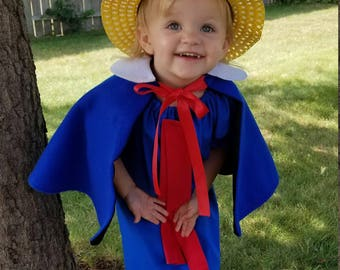 Madeline Cape and Hat ONLY,  Madeline Storybook,