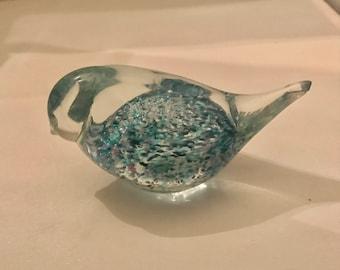 Vintage Randsfjord Glass of a Bird