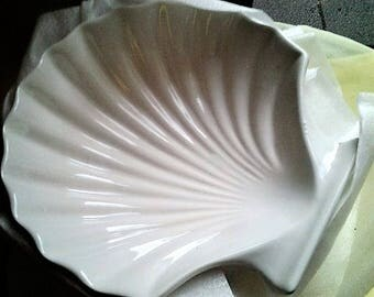 Set of Four Clam Shaped Dishes