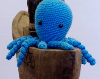 squid Octopus crochet