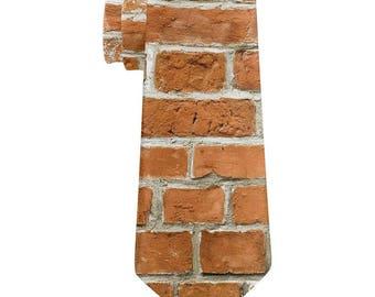 Brick All Over Neck Tie