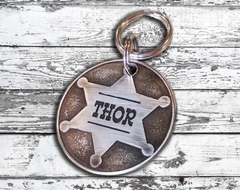 Dog Tag - Original Badge in Nickel Silver