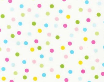 Robert Kauffman Remix, Ann Kelle Designs, Spring Dots, fabric by the yard