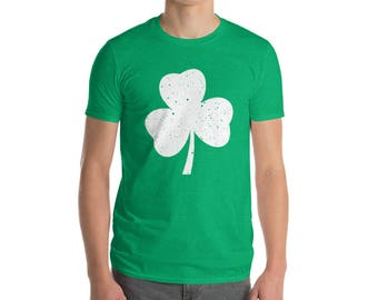 St. Patrick's Day Shamrock Short-Sleeve T-Shirt