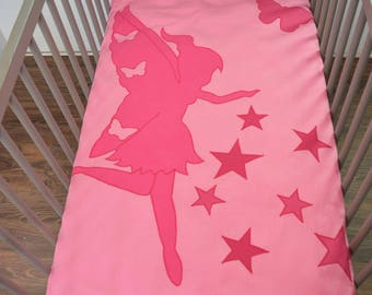 AVAILABLE * starry blanket fairy butterflies, 100 x 140 cm