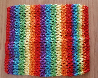 sale 5.30 instead 6.45.BUSTIER stretch 2-6 years of multicolored/rainbow sky crochet for creating girl tutu dress