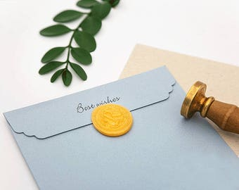 Wax Seal Stamp, Alphabet Wax Seal, Letter Wax Seal, Wax Seal, Envelope Seal